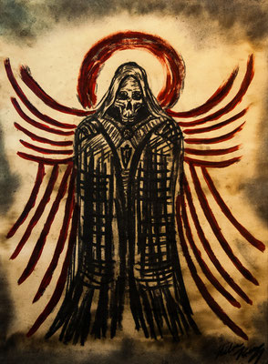 Der Blutengel im Zeichen des schwarzen Paladins