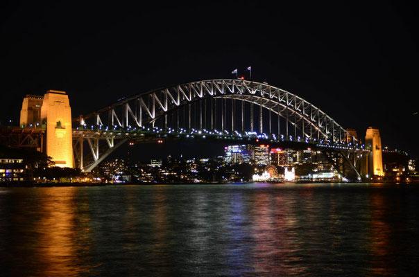 Langzeitbelichtung: Nachtfotografie - Sydney