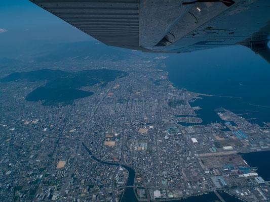空から見た香川県