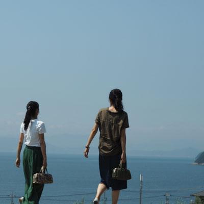 小豆島で親友と
