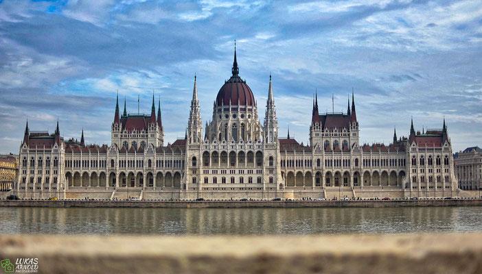 Das Parlament von Budapest