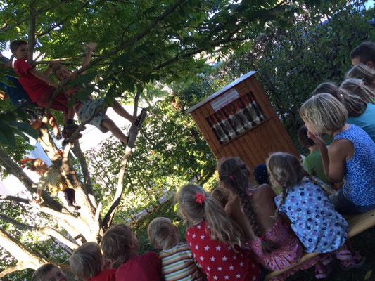 Kinderunterhaltung an Quartierfest