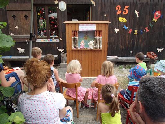 Abschiedsfest Spielgruppe mit Kasperlitheater