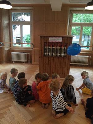 Kindergeburtstag in Gemeinschaftsraum