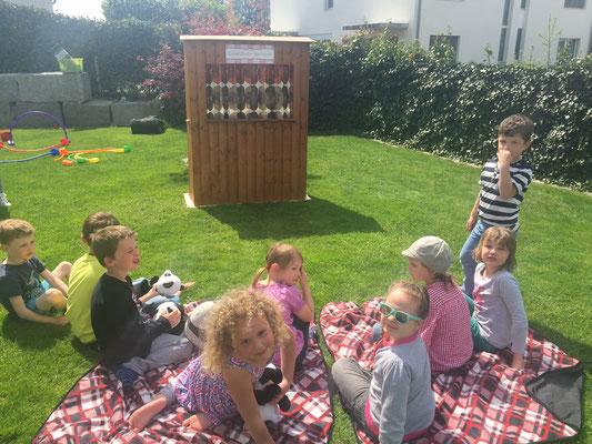Kindergeburtstag Party im Garten