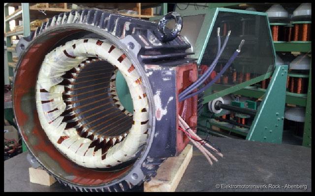 © Gleichstromwicklungen  Elektromotoren - Reparaturwerk Rock GmbH Abenberg (Bild 1)
