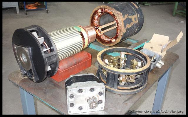 © DC Staplermotoren reparieren Elektromotoren - Reparaturwerk Rock GmbH Abenberg (Bild 2)