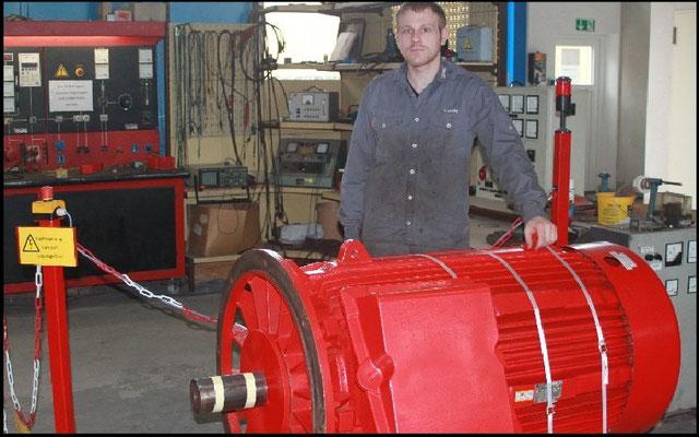 © Drehstrommotor reparieren Elektromotoren - Reparaturwerk Rock GmbH Abenberg (Bild 4)