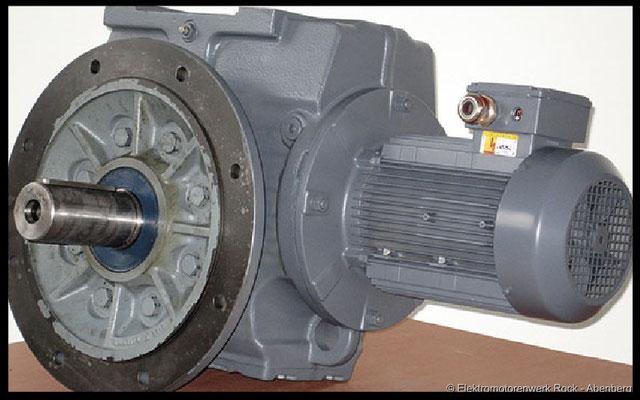 © Getriebemotoren und Regelgetriebemotoren reparieren Elektromotoren - Reparaturwerk Rock GmbH Abenberg (Bild 1)