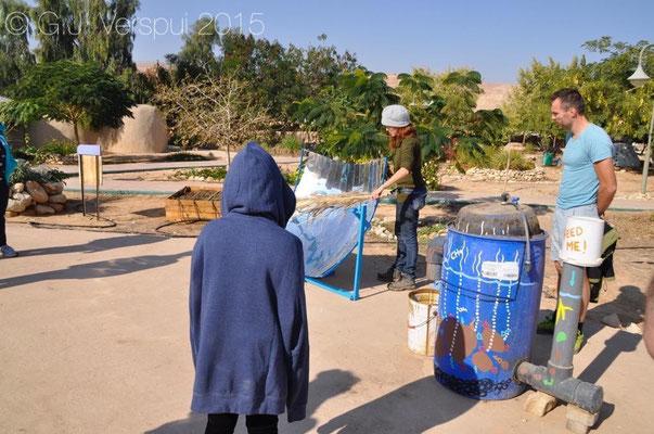Lotan Kibbutz tour