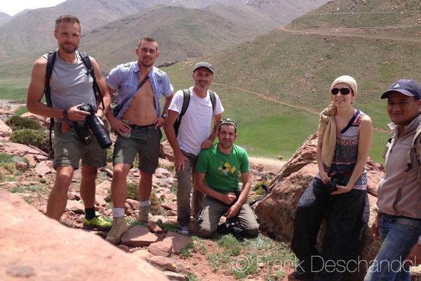 Me, Sjoerd, Frank, Matthieu, Maud and Abdellah