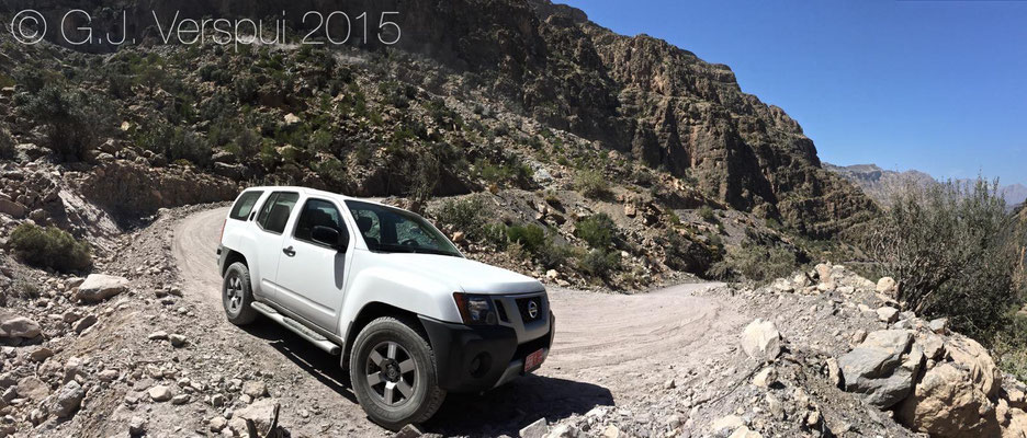 Nissan X terra 4.0, bad suspension, great 4x4 though.
