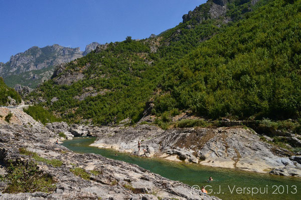 Kirit river, Albania