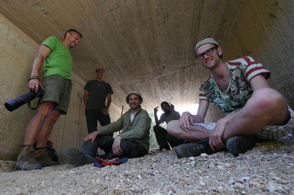 Milos team, me, Jeroen, Daniel, Bert and Bobby.   © Daniel Bohle