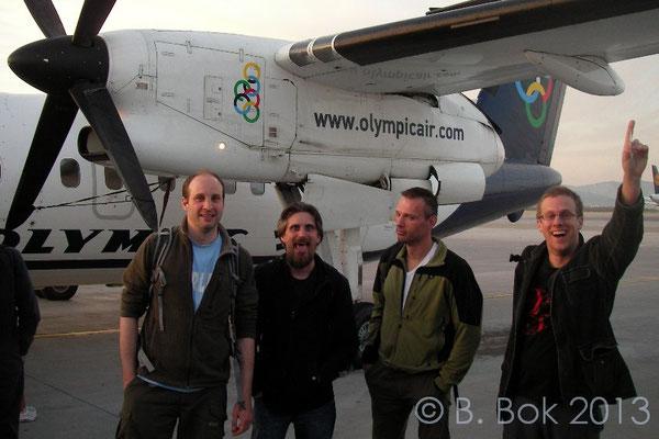 Daniel, Bert, me and Jeroen.  © Bobby Bok
