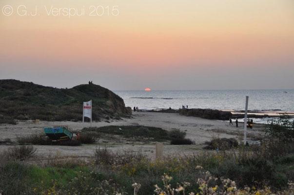 Beach south of Tel Aviv