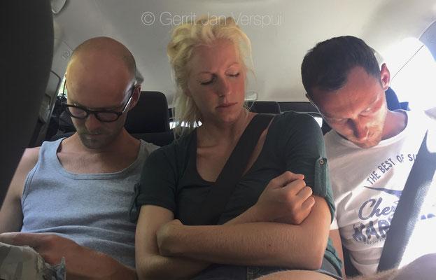normal back seat behavior