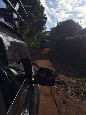 Taking the shortcut to Kampala