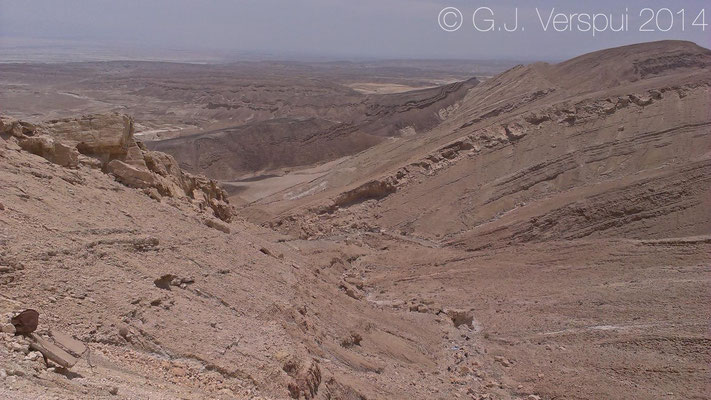 Looking into the Arava Valley