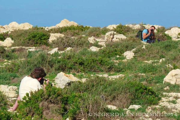 Sjoerd photographing us..