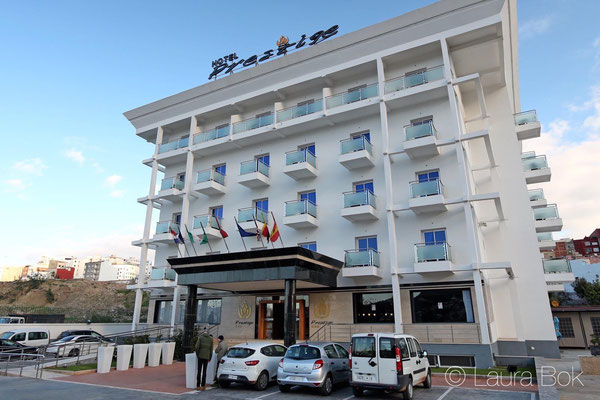 Our hotel in Tetouan, Prestige. © Laura Bok