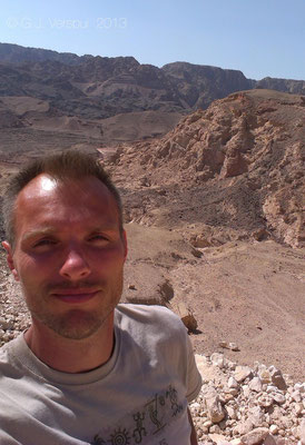 Me in the Eilat Mountains