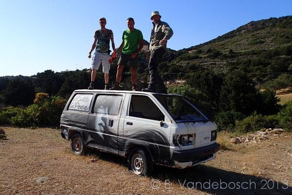 Looking for some good viper habitats, from higher 'ground'.  © Bert Vandebosch