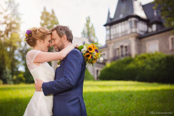 Hochzeitsbilder Schloss Rauischholzhausen