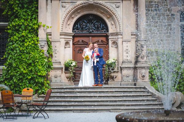 Hochzeitspaar Schloss Rauischholzhausen