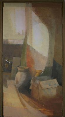 schilder en teken zaaldeur