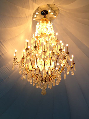 ROCK CRYSTAL CHANDELIER.MOSCOW