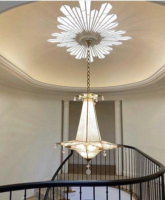 rock crystal chandelier .BEVERLY HILLS.ALEXANDRE VOSSION DESIGN