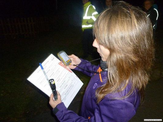 Geocaching Tour bei Nacht - passt auch zur Weihnachtsfeier