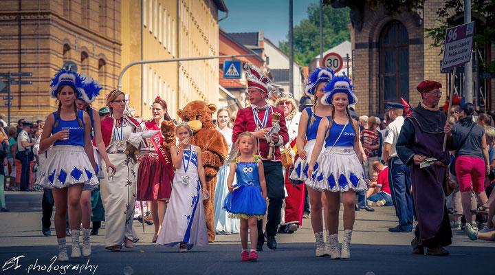 Region Eichsfeld / Karnevalsverein aus Heilbad Heiligenstadt und Symbolfiguren