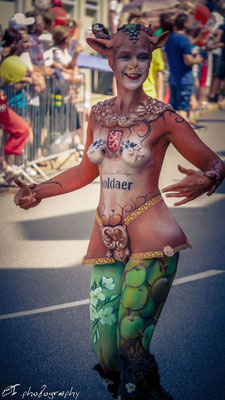 Apoldaer Bodypainting Contest