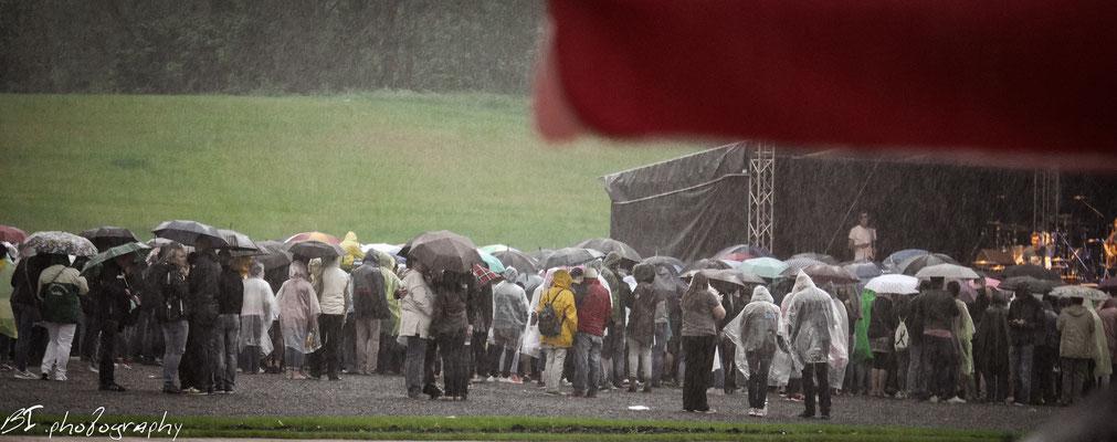 JA - und dann kam der deftige Regen