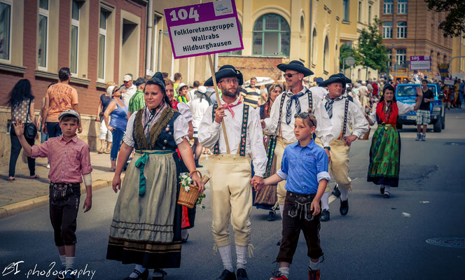 Folkloretanzgruppe Wallrabs / Hildburghausen