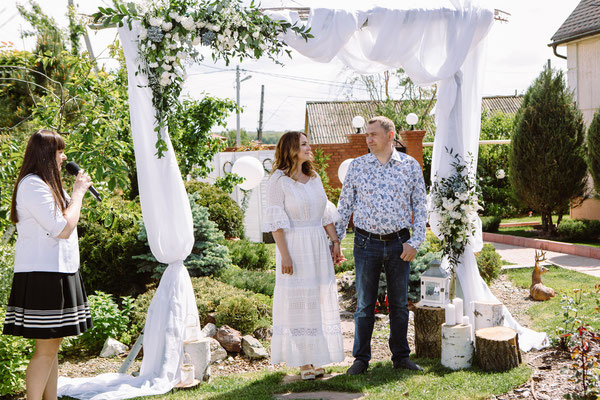 Юбилейная свадебная церемония