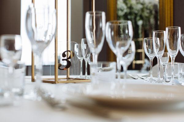 Номерки на столы гостей