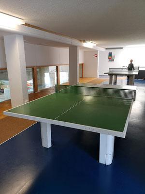 Tischtennis-Raum für die ganze Familie