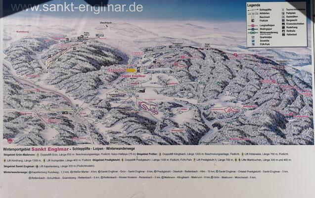 Ski-Vergnügen auf zahlreichen Skipisten rund um Sankt Englmar