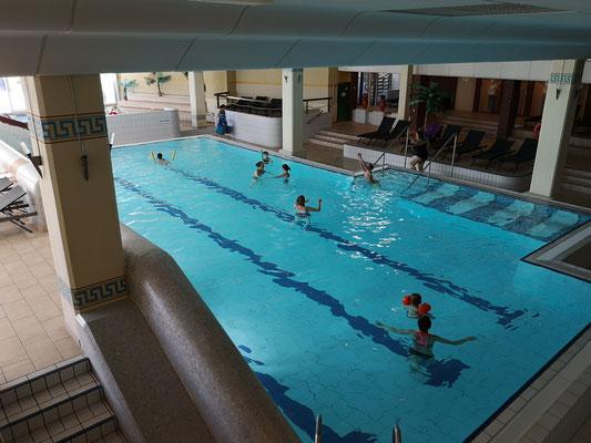 Schwimmbad-Bereich auf 1.500 m²