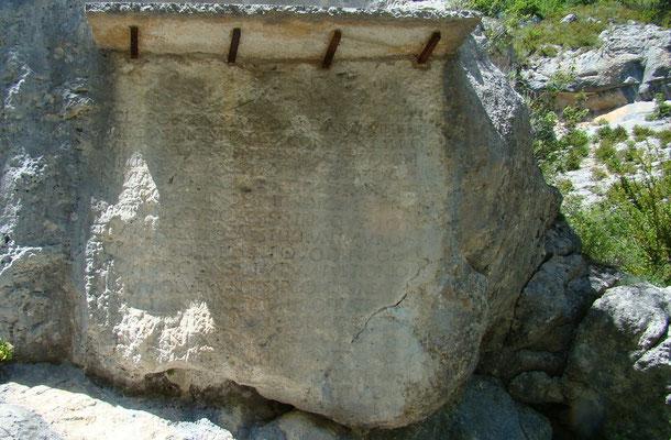 La pierre écrite
