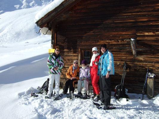 Wintersport: Skifahren, Schneeschuhwandern, Rodeln,...