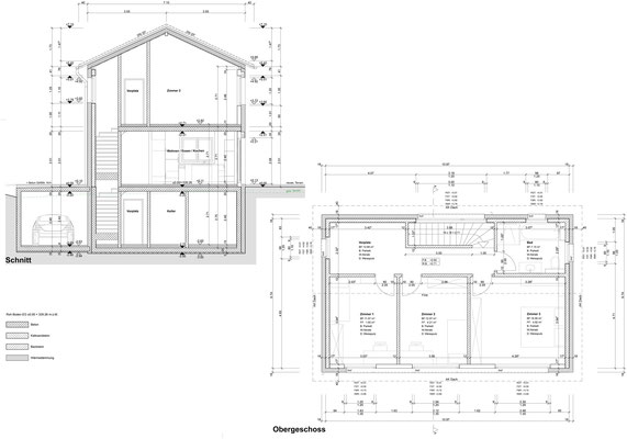 Erdgeschoss+Schnitt