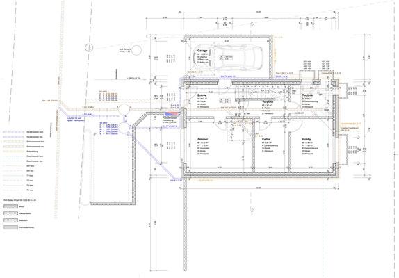Untergeschoss/Kanalisation
