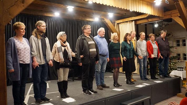 Das Ensemble der PROvinzbühne Schwarmstedt