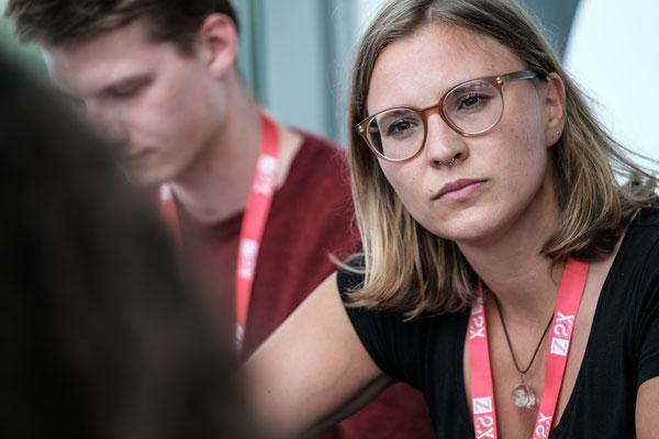 Marie Westphal Z2X Festival der jungen Visionäre photo©Alexander Probst/ Phil Dera für ZEIT ONLINE