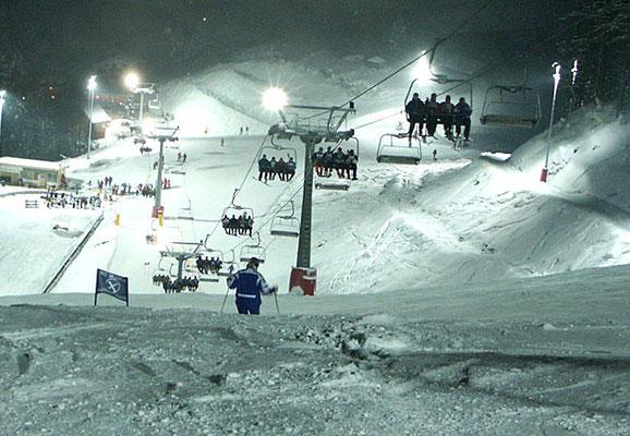 Hocheck, Skierlebnis Nachtskifahen,  Nähe Hotel zur Post