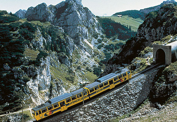 Bergwanderung mit Der Zahnradbahn, Sommerurlaub in Kiefersfelden, Hotel zur Post